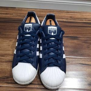 All leather Adidas Superstars